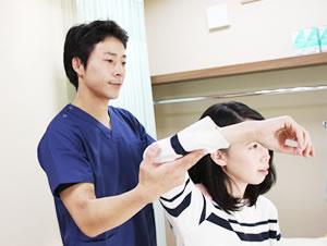 関節の痛みの治療写真